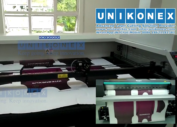 Digital printing laser cutting total solution