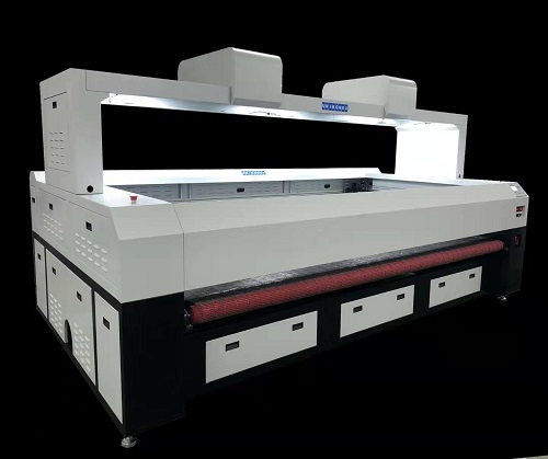New Launch Dual-Vision Machine for Large Size Fabric Cutting